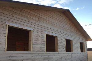 окосячка проёмов в деревянном доме