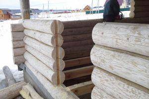 окосячка в деревянном доме