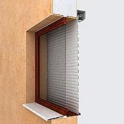 Рольставни на окна Алютех (защитные жалюзи) №5
