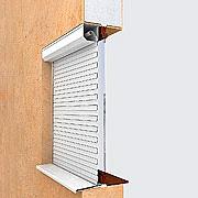 Рольставни на окна Алютех (защитные жалюзи) №6
