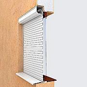 Рольставни на окна Алютех (защитные жалюзи) №8