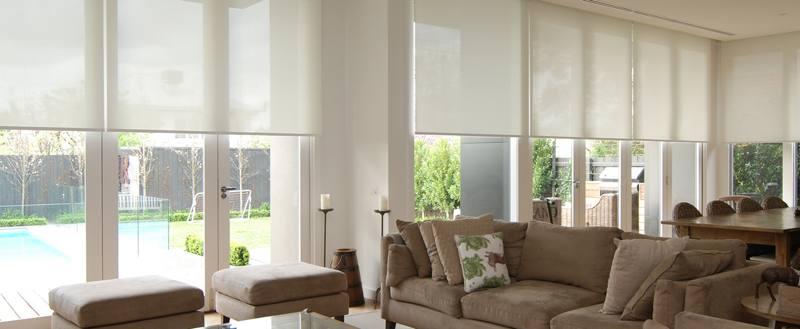 Рулонные шторы для коттеджей и загородных домов