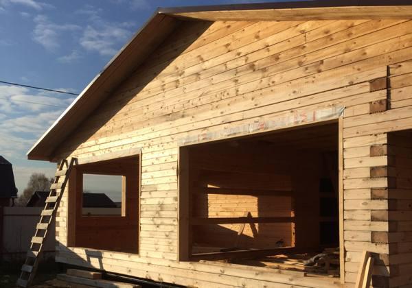 Изготовление обсады, окосячки в деревянном доме. №2