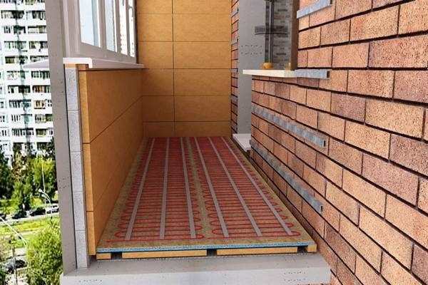Утепление лоджий и балконов №2
