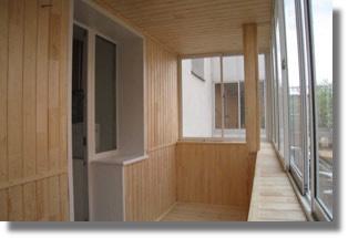 отделка и обшивка лоджий и балконов в Серпухове, Протвино, Чехове