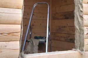 Изготовление обсады, окосячки в деревянном доме. №9