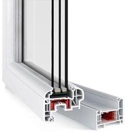 шестикамерные пластиковые окна rehau Euro-Design в Серпухове, Чехове, Протвино