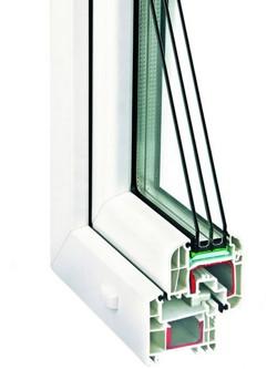 5-ти камерные пластиковые окна из профиля Rehau Delight-Design New в Серпухове, Чехове, Протвино, Пущино, Тарусе,