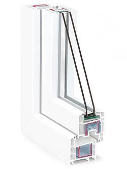 Пятикамерные пластиковое окно Rehau Delight-Design в Серпухове, Чехове, Протвино, Пущино, Тарусе,