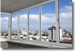 остекление балкона раздвижным алюминием