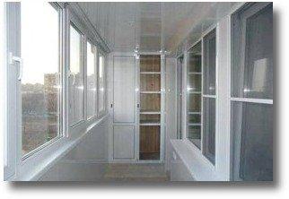 теплое остекление балкона пластиком ПВХ в Серпухове, Чехове, Протвино, Кременках
