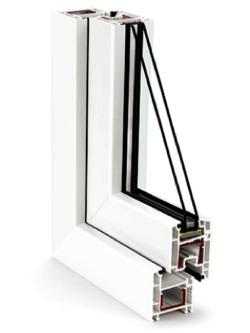 трехкамерные пластиковые окна rehau Euro-Design в Серпухове, Чехове и Протвино