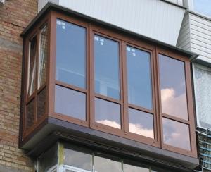 Французское остекление балкона №7