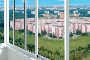 холодное алюминиевое остекление балкона или лоджии
