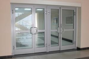 Холодные алюминиевые окна №3