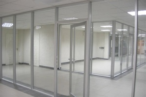 Холодные алюминиевые окна №5