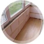 кладка на балконе