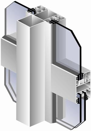 окна из холодного алюминиевого профиля в Серпухове, Протвино, Чехове, Заокском, Пущино, Подольске