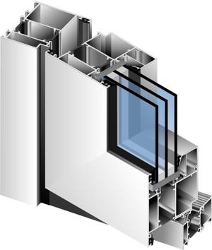 теплые окна из алюминия в Серпухове, Чехове, Протвино, Подольске