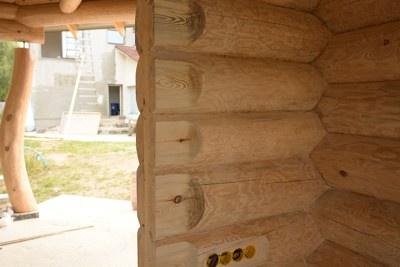 Остекление деревянных домов и срубов | установка окон в деревянном доме №5