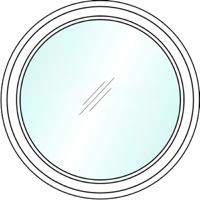 Круглые пластиковые окна №2