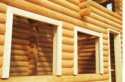 Остекление деревянных домов и срубов | установка окон в деревянном доме №4