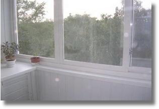 Обшивка лоджии и балкона пластиковой вагонкой в Серпухове, Протвино, Чехове, Пущино