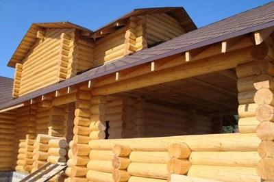 Остекление деревянных домов и срубов | установка окон в деревянном доме №3