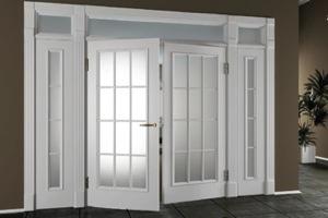Пластиковые двери ПВХ №3
