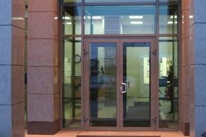 тёплые алюминиевые двери