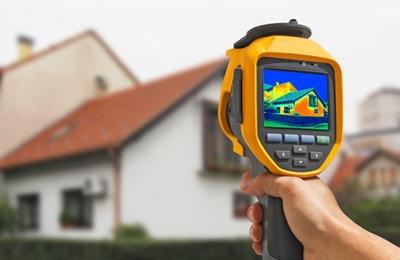Проверка качества монтажа и поиск утечек тепла тепловизором