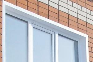 внешние откосы на окна
