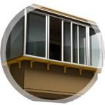 остекление балконов и лоджий с выносом в Серпухове, Чехове, Протвино, Пущино, Тарусе,