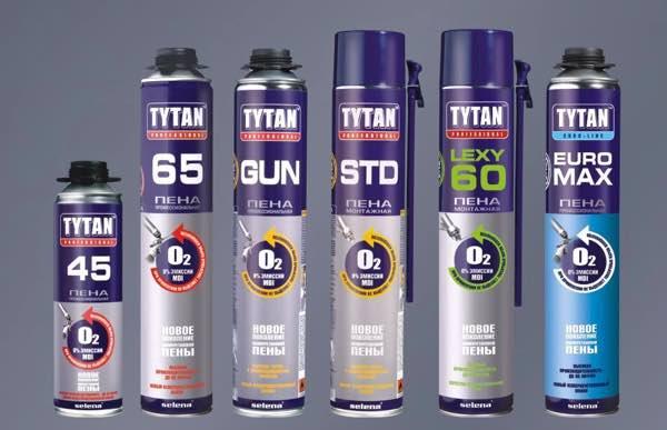 монтажная пена Титан