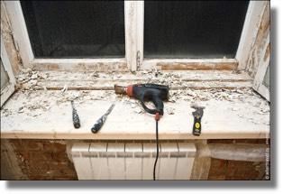 Ремонт и утепление старых деревянных окон