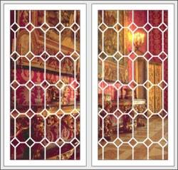 Металлические решетки внутри стеклопакета (Римские решетки)