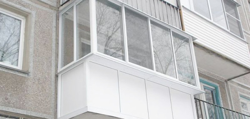 Балкон с выносом в Серпухове, Чехове, Протвино, Пущино, Тарусе, Заокском