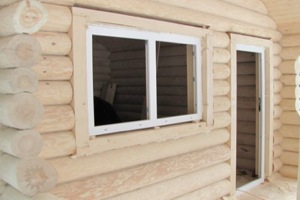 Изготовление проёма в деревянном доме №2