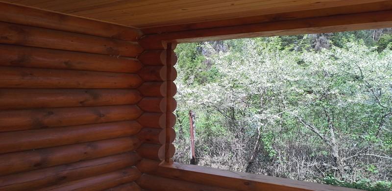 вырезание проёма в деревянном доме