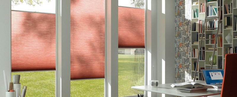 Шторы плиссе на вертикальные и поворотно-откидные окна