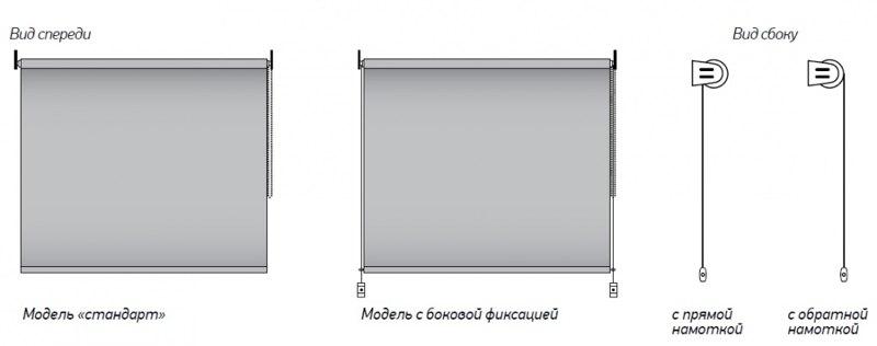 Рулонные шторы на пластиковые окна №7