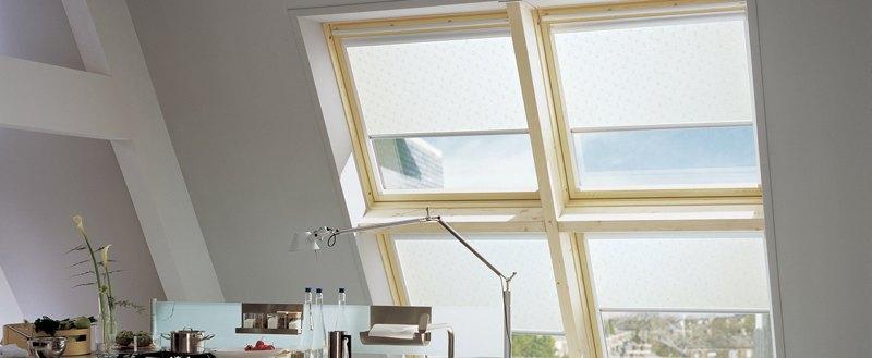 Рулонные шторы UNI2 (BESTA) для пластиковых окон с любой глубиной штапика
