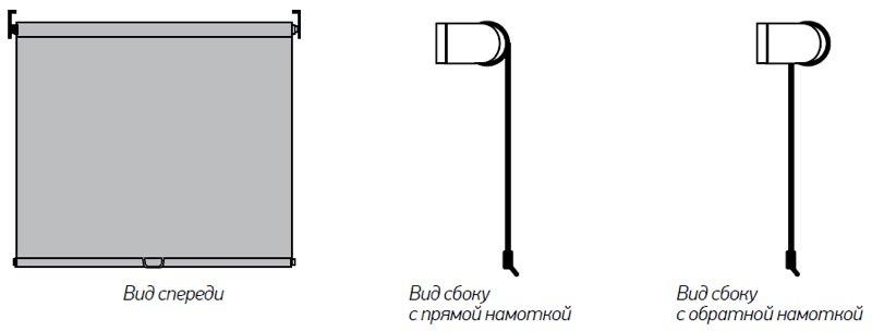 Рулонные шторы ЗЕБРА для закрытия проёмов №5