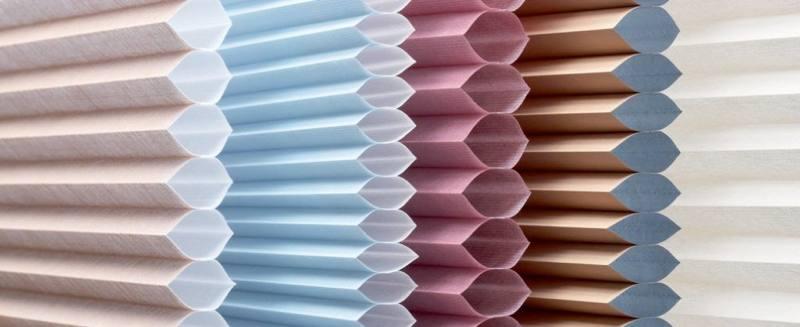 ткани для плиссированных штор