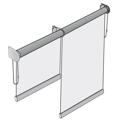 Рулонные шторы для закрытия проёмов №8