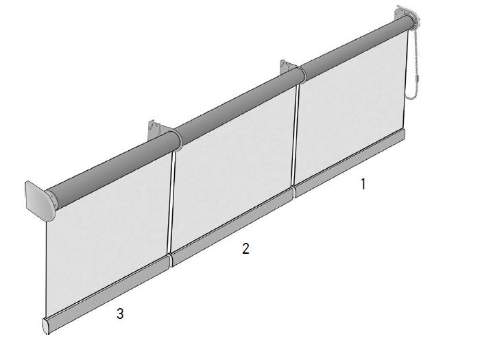 Рулонные шторы для закрытия проёмов №10