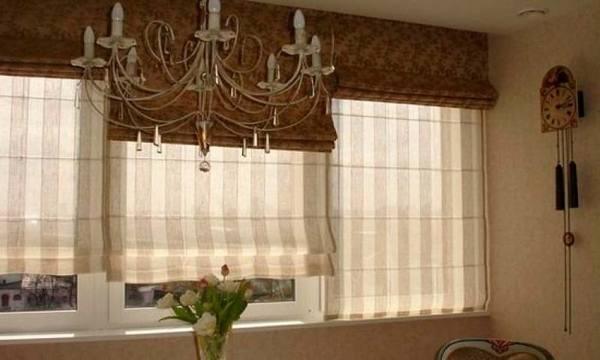 Римские шторы №8