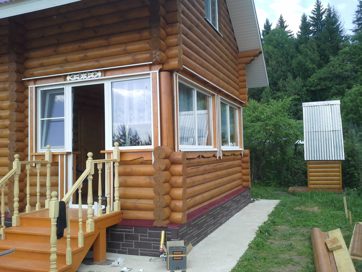 обсада окосячка оконных проемов в деревянном доме цена
