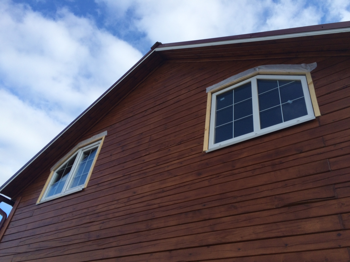 сколько стоит сделать обсаду в деревянном доме