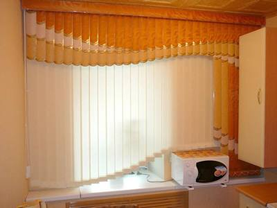 мультифактурные шторы на кухню